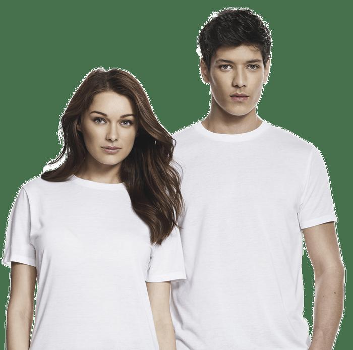 weiße bio shirts